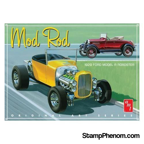 AMT - '29 Ford Model A Roadster 1:25-Model Kits-AMT-StampPhenom
