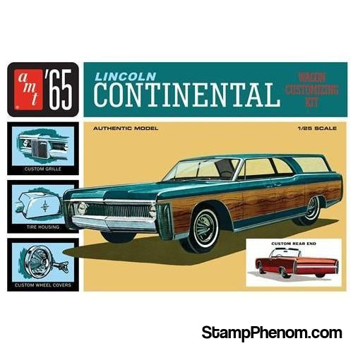 AMT - '65 Lincoln Continental 1:25-Model Kits-AMT-StampPhenom