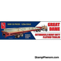 AMT - Great Dane Flat Bed Trailer 1:25-Model Kits-AMT-StampPhenom