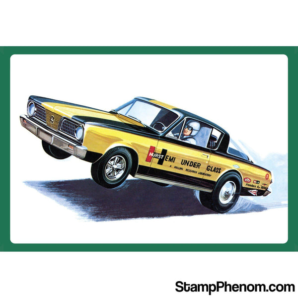AMT - '66 Plymouth Barracuda Hemi Under Glass 1:25-Model Kits-AMT-StampPhenom