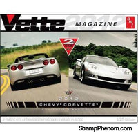 AMT - '12 Corvette Coupe & Convertible 1:25-Model Kits-AMT-StampPhenom