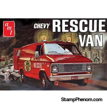 AMT - '75 Chevy Rescue Van 1:25-Model Kits-AMT-StampPhenom