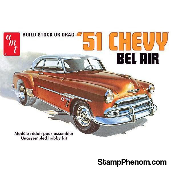 AMT - '51 Chevy Bel Air 1:25-Model Kits-AMT-StampPhenom
