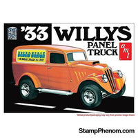 AMT - '33 Willys Panel Truck 1:25-Model Kits-AMT-StampPhenom