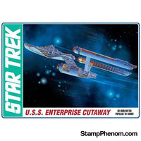 AMT - Star Trek TOS Enterprise Cutaway 1:537-Model Kits-AMT-StampPhenom