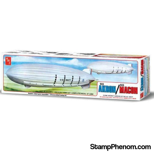 AMT - Uss Akron/Uss Macon Air Ships-Model Kits-AMT-StampPhenom