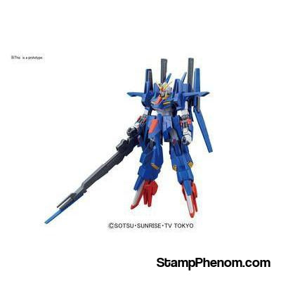 Gundam - ZZ Ii Gundam Build Fighter Hg-Model Kits-Gundam-StampPhenom