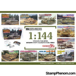 Dragon - Mini Armor Series 1:144 10 different-Model Kits-Dragon-StampPhenom