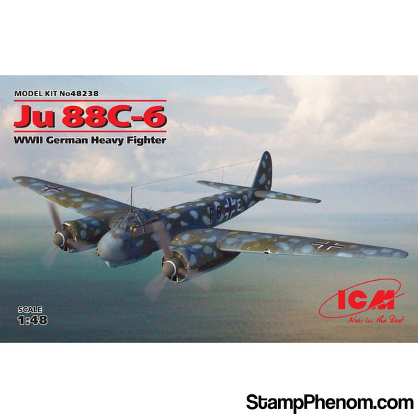 ICM - WWII German Ju88C6 Fighter 1:48-Model Kits-ICM-StampPhenom