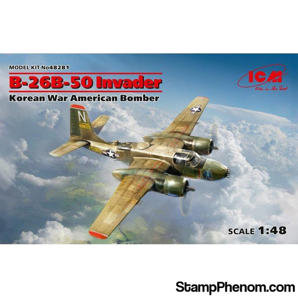 ICM - USAF B‐26B‐50 Invader Korean War 1:48-Model Kits-ICM-StampPhenom