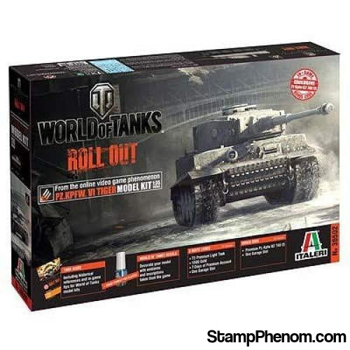Italeri - World of Tanks Pz.Kpfw.VI Tiger 1:35-Model Kits-Italeri-StampPhenom