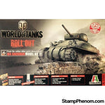 Italeri - World of Tanks M4 Sherman 1:35-Model Kits-Italeri-StampPhenom