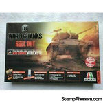 Italeri - World of Tanks M34 Chaffee 1:35-Model Kits-Italeri-StampPhenom