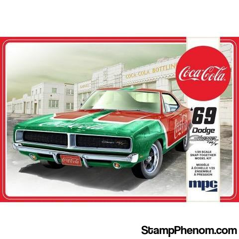 MPC - 1969 Dodge Charger RT (Coca Cola) 1:25-Model Kits-MPC-StampPhenom