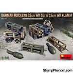 MiniArt - WWII German Rockets 28cm WK Sp 1:35-Model Kits-MiniArt-StampPhenom