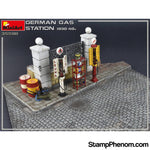 MiniArt - German Gas Station 1930‐40's 1:35-Model Kits-MiniArt-StampPhenom