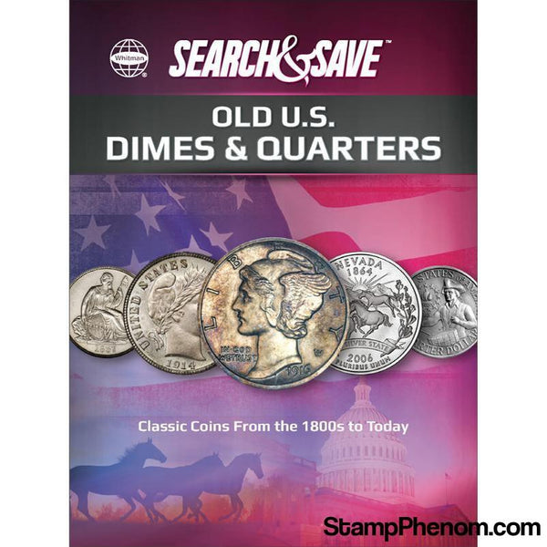 Whitman Search & Save : Old US Dimes & Quarters-Coin Collecting For Kids-Whitman-StampPhenom