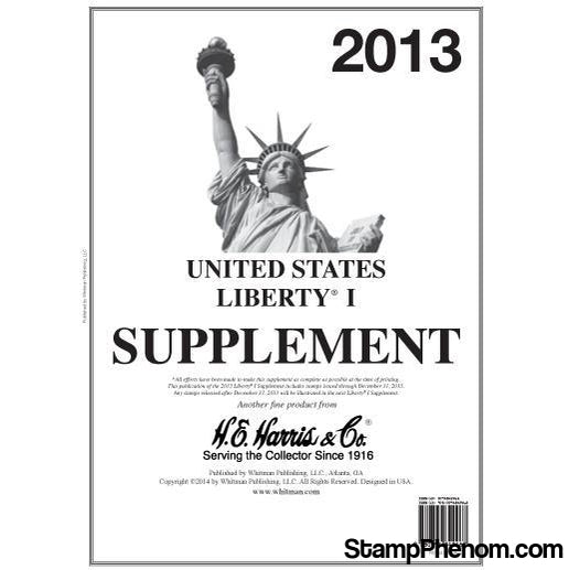 HE Harris & Co |Liberty I Supplement 2013-Albums-HE Harris & Co-StampPhenom