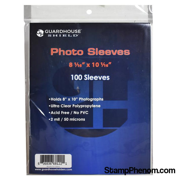 Shield Sleeve for 8x10 Photos & Prints-Sleeves, Bags & Boards-Guardhouse Shield-StampPhenom