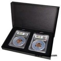Two Slab Chipboard Certified Coin Gift Box-Display Boxes for Certified Coins-Guardhouse-StampPhenom