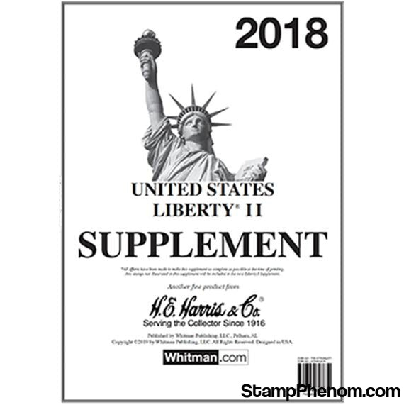 2018 Liberty II Supplement | HE Harris & Co-Album Supplements-HE Harris & Co-StampPhenom