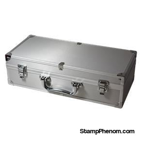 50 Slab Aluminum Box with Handle and Footers-Display Boxes for Certified Coins-Guardhouse-StampPhenom