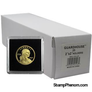 Small Dollar 2x2 Tetra Snaplock Coin Holder - 25 per pack-Guardhouse Tetra Snaplocks-Guardhouse-StampPhenom