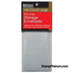 PVC-Free Poly Envelopes - Large-Poly Bags & Ziplocks-Whitman-StampPhenom