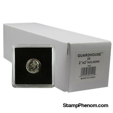 Dime, $2.50 Gold 2x2 Tetra Snaplock Coin Holder - 25 per pack-Guardhouse Tetra Snaplocks-Guardhouse-StampPhenom