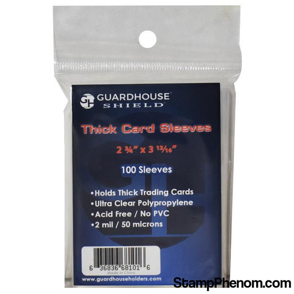 Shield Sleeve for Thick Trading Cards-Sleeves, Bags & Boards-Guardhouse Shield-StampPhenom