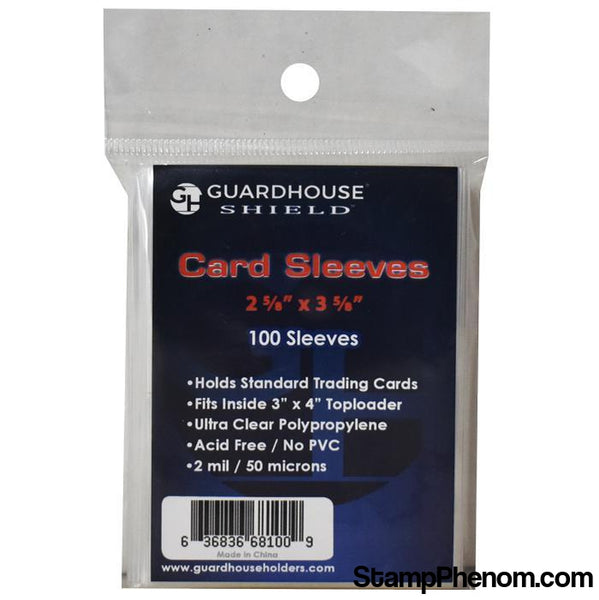 Shield Sleeve for Standard Trading Cards-Sleeves, Bags & Boards-Guardhouse Shield-StampPhenom