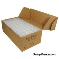 Guardhouse American Silver Eagle Coin Tube Clear Lid -100 Pack-Coin Tubes-Guardhouse-StampPhenom