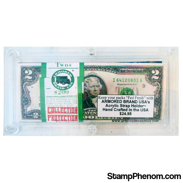Armored Brand USA Acrylic Bulk Modern Currency Holder-Coin Holders & Capsules-Armored Brand USA-StampPhenom