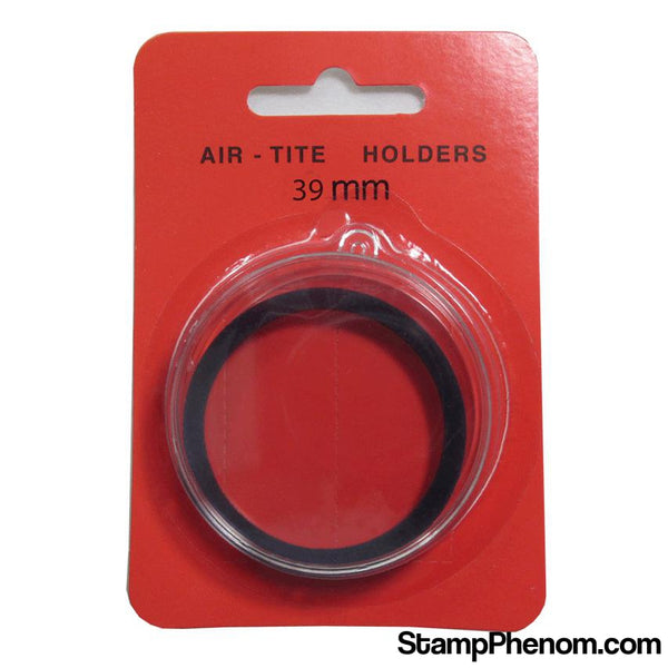 Air Tite 39mm Retail Package Holders - Ornament Blue-Air-Tite Holders-Air Tite-StampPhenom
