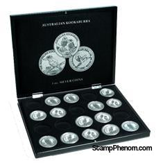 Collector Box - Kookaburra-Display Boxes for Round Coin Holders-Lighthouse-StampPhenom