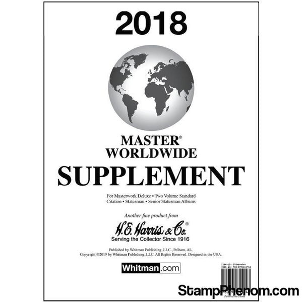 2018 Master Worldwide Supplement |HE Harris & Co-Album Supplements-HE Harris & Co-StampPhenom