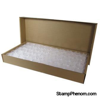 Silver Round size bulk 39mm Direct-Fit Guardhouse holders. 250 count box.-Guardhouse Coin Capsules-Guardhouse-StampPhenom