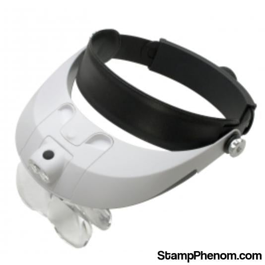 Easy Eyes Head Magnifier With head Strap-Loupes and Magnifiers-Transline-StampPhenom