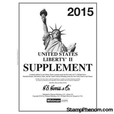 2015 Liberty II Supplement-Album Supplements-Whitman-StampPhenom