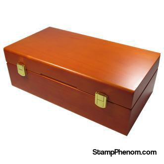Wood Display Box - 50 PCGS or NGC Slabs-Display Boxes for Certified Coins-Guardhouse-StampPhenom