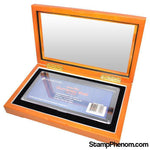 Guardhouse Glass-top Box for Large Currency Holder-Coin Displays-StampPhenom-StampPhenom