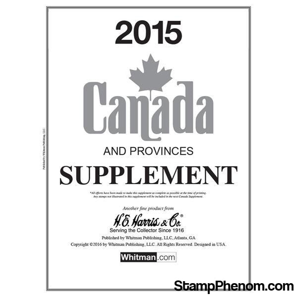 2015 Canada Supplement-Album Supplements-Whitman-StampPhenom