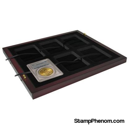 Certified Coin Slab Tray - Holds 6 Slabs-Display Boxes for Certified Coins-Guardhouse-StampPhenom