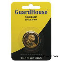 Small Dollar Direct Fit Guardhouse Capsule - Retail Card-Guardhouse Coin Capsules-Guardhouse-StampPhenom