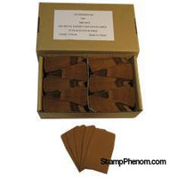 Paper Coin Envelope, Brown - Qty: 500-Paper Coin Envelopes-Guardhouse-StampPhenom