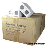 Guardhouse 2x2 Large Dollar - 100/Bundle-Paper Holders-Guardhouse-StampPhenom