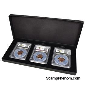 Three Slab Chipboard Certified Coin Gift Box-Boxes-Guardhouse-StampPhenom