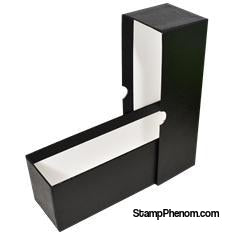 "Single Row Slab or Crown Box - 8.25"" - Black-Boxes-Guardhouse-StampPhenom"