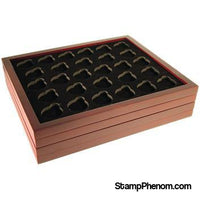 Small Capsule Tray - Holds 28 Round Small Sized Guardhouse Coin Capsules-Display Boxes for Round Coin Holders-Guardhouse-StampPhenom
