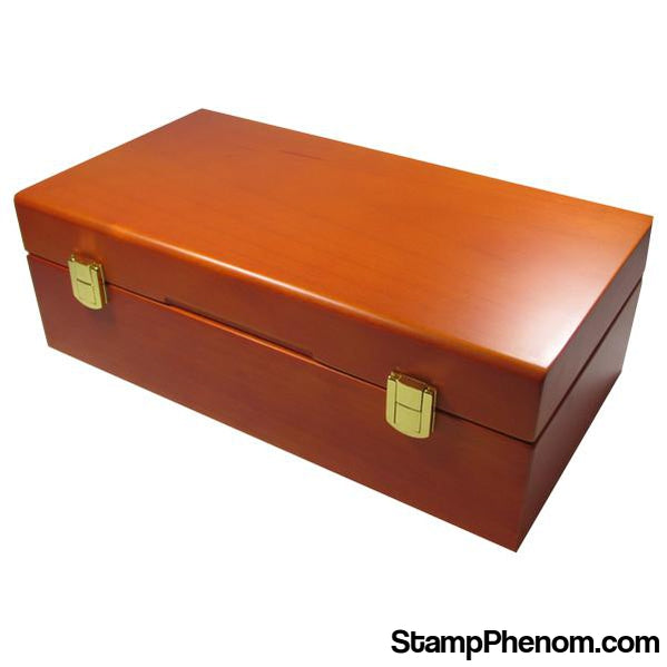 Wood Display Box - 50 PCGS or NGC Slabs-Display Boxes for Certified Coins-Guardhouse Display Boxes-StampPhenom